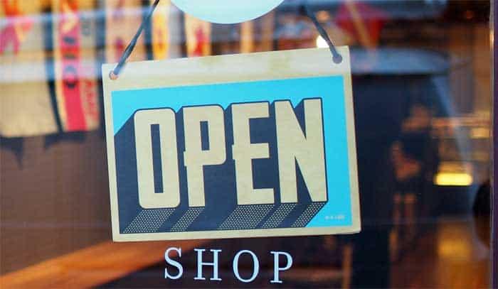 open-shop