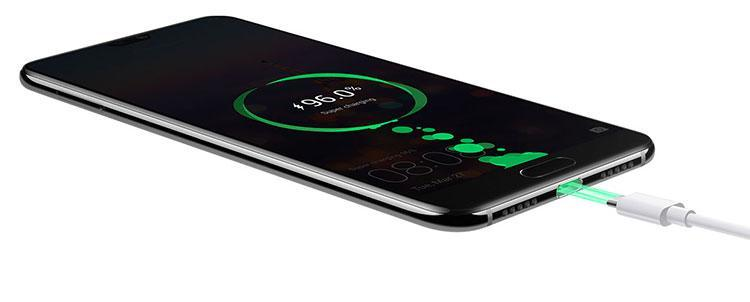 Huawei P20 Pro fra siden