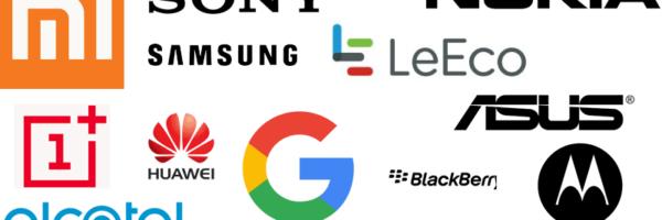 Mobiltelefon brands – Se alle 72 mobil brands