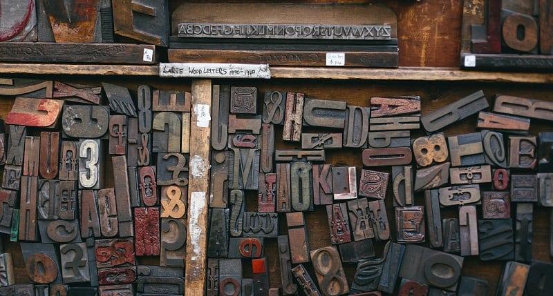 Mange bogstaver til kombination i kode