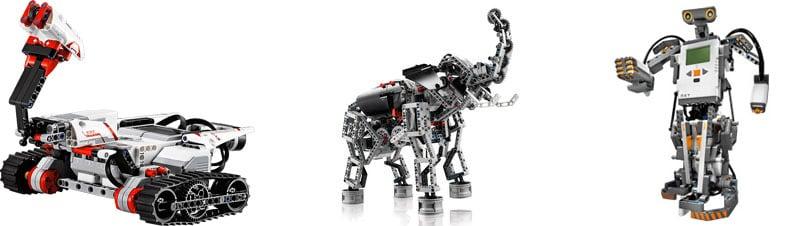 mindstorm robotter 3 stk