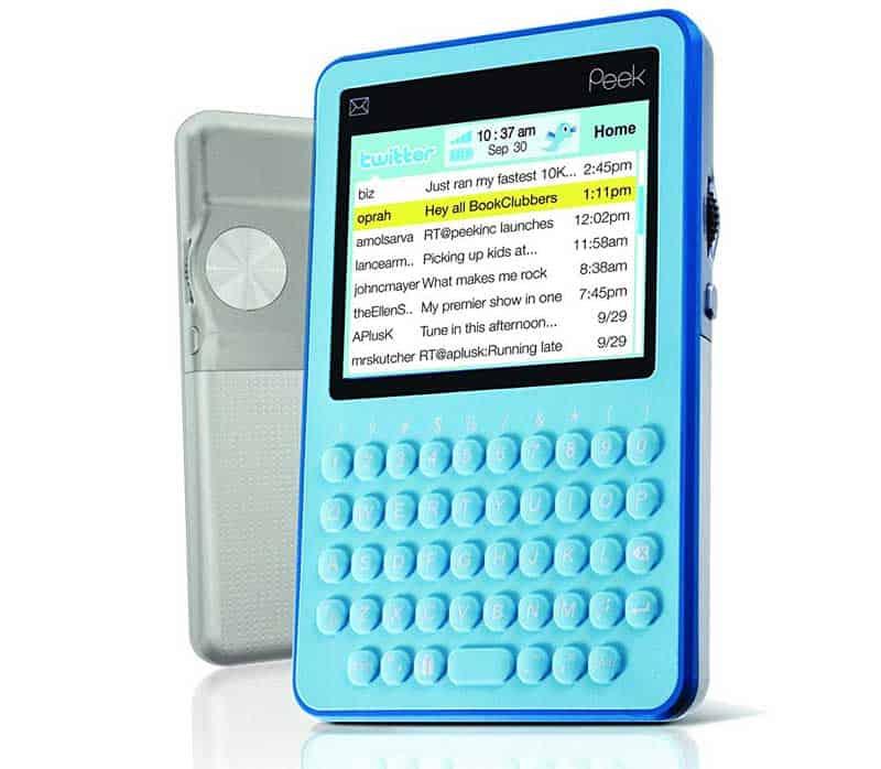 Twitter peak device 2009